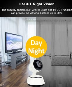 1080P HD Baby Monitor IP Camera WiFi Wireless Auto Tracking Night Vision Home Security CCTV Surveillance 4