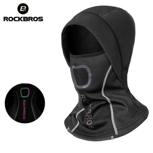 ROCKBROS Winter Cycling Cap Warm Windproof Cycling Face Mask