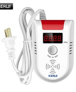 Wireless Intelligent Sensor Gas Leak Alarm Detector With Voice 2