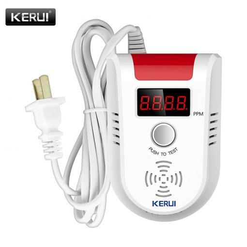 Wireless Intelligent Sensor Gas Leak Alarm Detector With Voice 2
