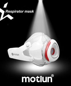 New 2019 respirator anti-fog respirator mask 1 set of 13 filter cotton anti - dust respirator