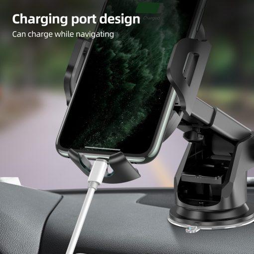Windshield Gravity Sucker Car Phone Holder For iPhone Smartphone 4