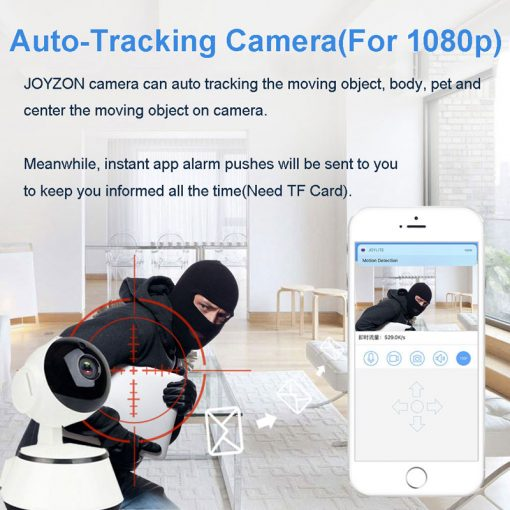 1080P HD Baby Monitor IP Camera WiFi Wireless Auto Tracking Night Vision Home Security CCTV Surveillance 6