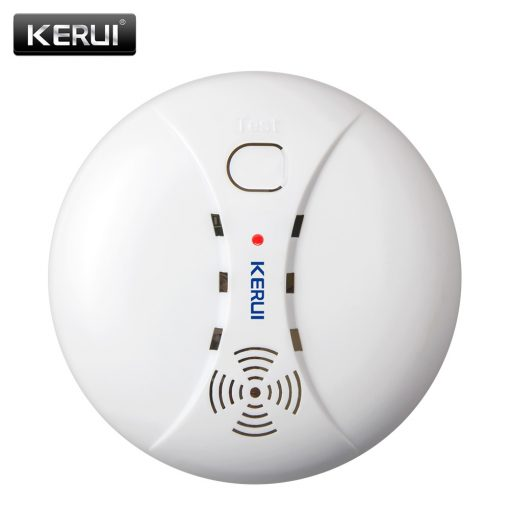 Wireless Fire Protection Smoke Detector Alarm System For Home Safety