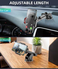 Windshield Gravity Sucker Car Phone Holder For iPhone Smartphone 6