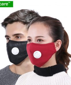Anti Pollution Respirator Washable Reusable Cotton Mask for Allergy-Asthma-Travel-Cycling