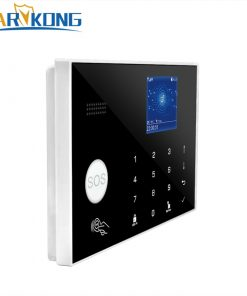 Wifi GSM 433 MHz Wireless Alarm System & Wired Detector Burglar Alarms RFID Card TFT LCD Touch Keyboard 2