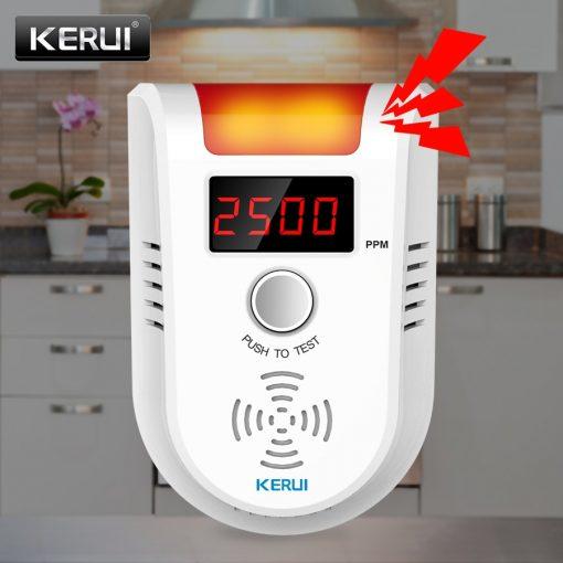 Wireless Intelligent Sensor Gas Leak Alarm Detector With Voice