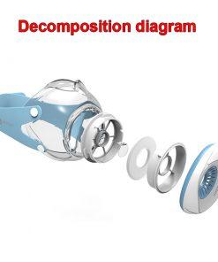 New 2019 respirator anti-fog respirator mask 1 set of 13 filter cotton anti - dust respirator 4