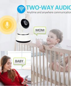 1080P HD Baby Monitor IP Camera WiFi Wireless Auto Tracking Night Vision Home Security CCTV Surveillance 8