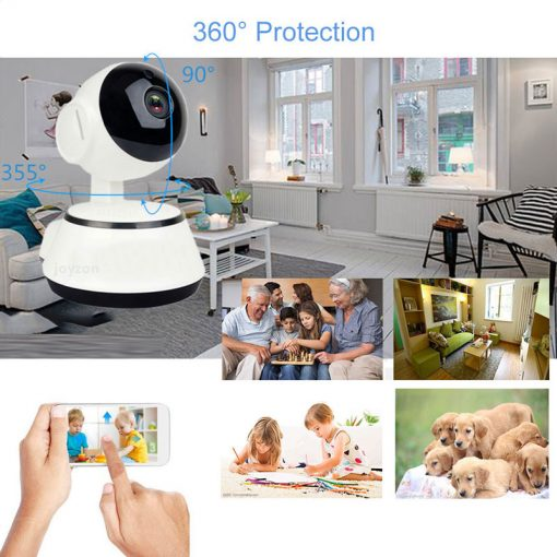 1080P HD Baby Monitor IP Camera WiFi Wireless Auto Tracking Night Vision Home Security CCTV Surveillance 10