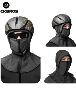 ROCKBROS Winter Cycling Cap Warm Windproof Cycling Face Mask 2