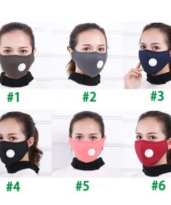 Anti Pollution Respirator Washable Reusable Cotton Mask for Allergy-Asthma-Travel-Cycling 6
