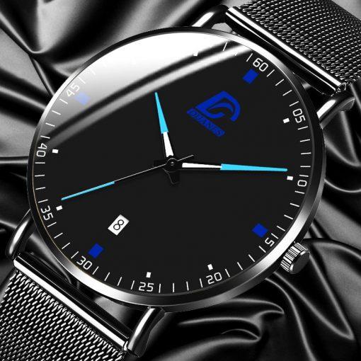 2020 Fashion Mens Business Minimalist Luxury Watch