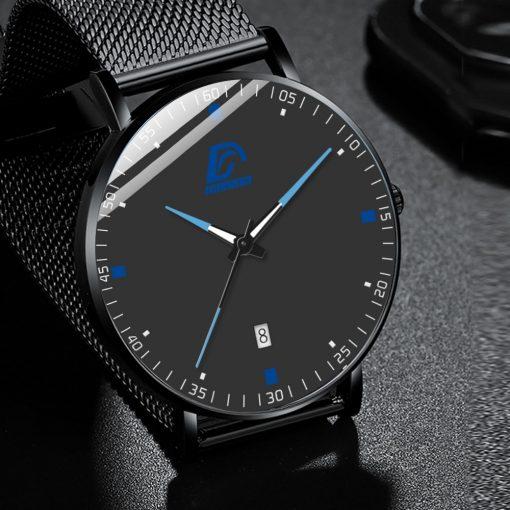 2020 Fashion Mens Business Minimalist Luxury Watch 2