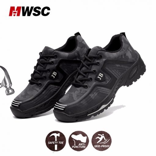MWSC Man Safety Work Shoes 2