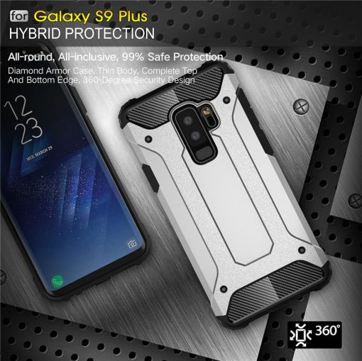 Rugged Armor Case For Samsung Galaxy S8 S9 Plus S10 S10E S5 S6 S7 edge Note 10 5 8 9 J6 A6 A7 A8 2018 Hard PC Shockproof Cover 4