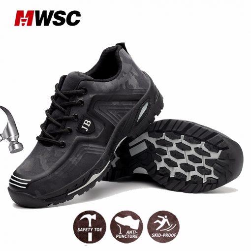 MWSC Man Safety Work Shoes 4