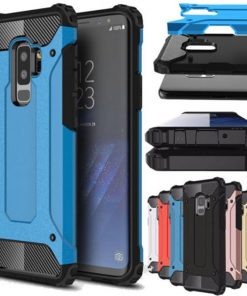 Rugged Armor Case For Samsung Galaxy S8 S9 Plus S10 S10E S5 S6 S7 edge Note 10 5 8 9 J6 A6 A7 A8 2018 Hard PC Shockproof Cover