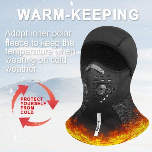 X-TIGER Winter Ski Mask Fleece Mask 6