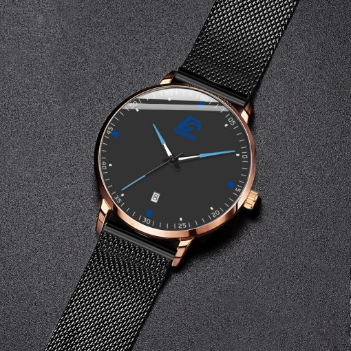 2020 Fashion Mens Business Minimalist Luxury Watch 8