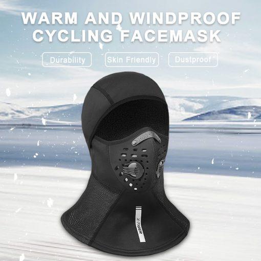 X-TIGER Winter Ski Mask Fleece Mask 4