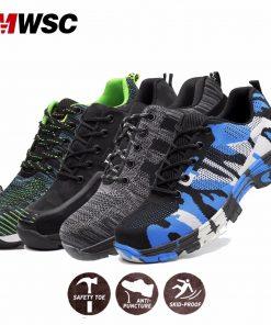 MWSC Man Safety Work Shoes 10